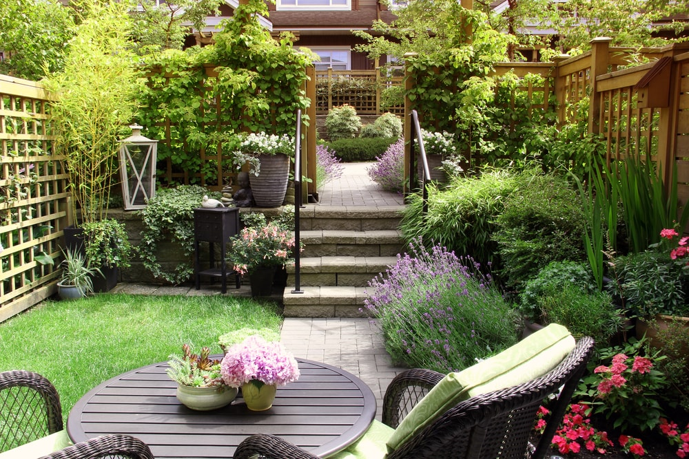 aanleg tuin