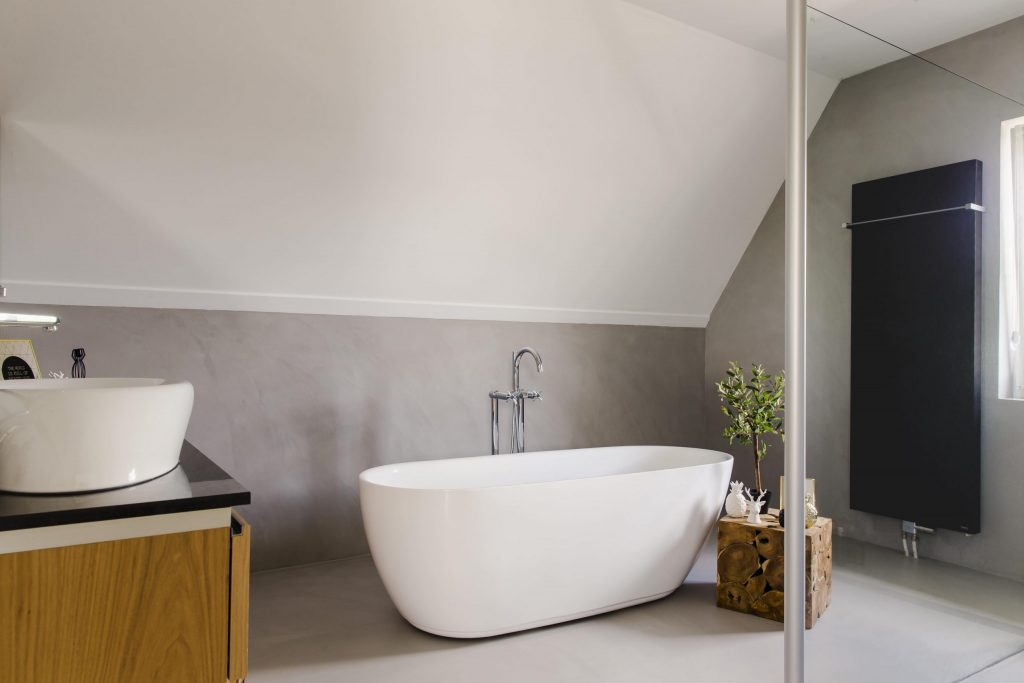 Betonlook kiezen in de badkamer